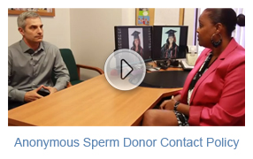 Anonymous Sperm Donor Contact Policy